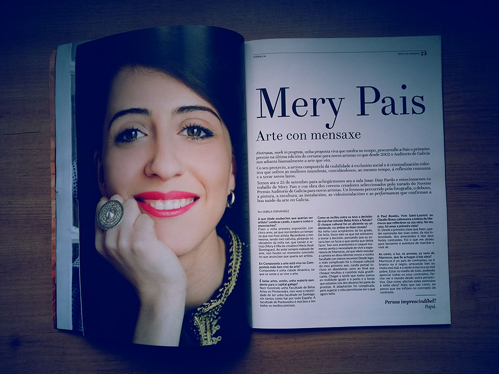 Mery Pais - Coralia - Arte con Mensaxe