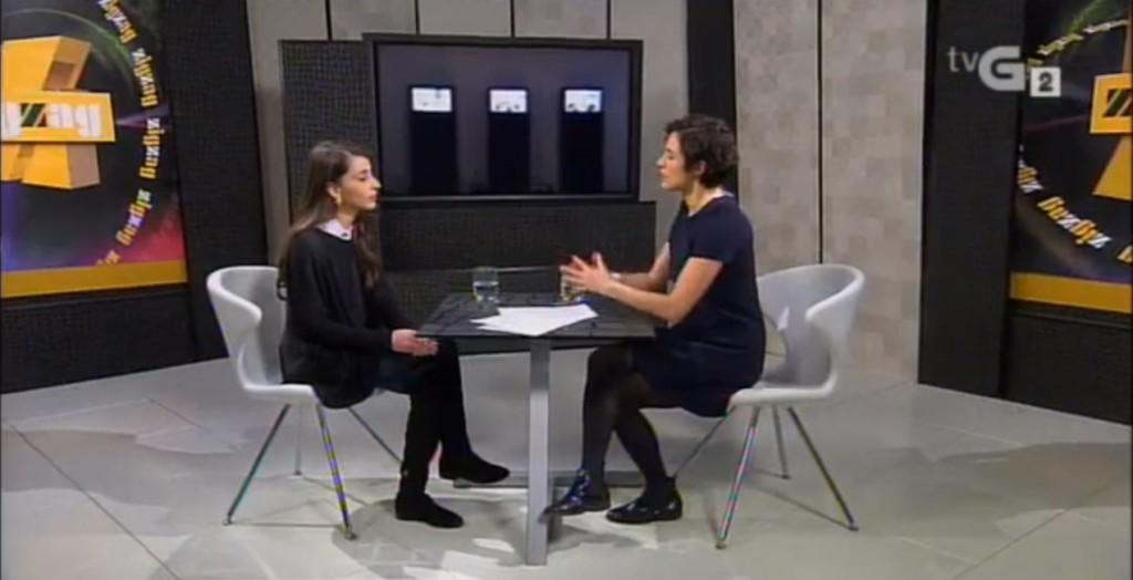Entrevista televisión Zig Zag Mery Pais en RTVG