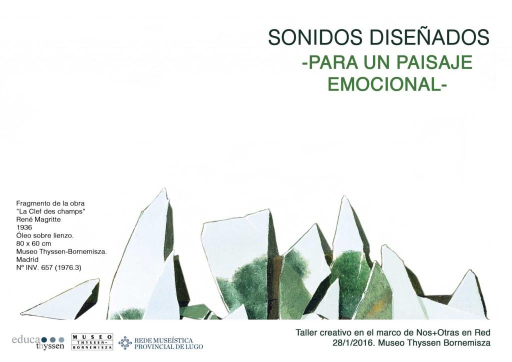 Sonidos Diseñados para un paisaje emocional - Taller Museo Thyssen-Bornemisza Portada