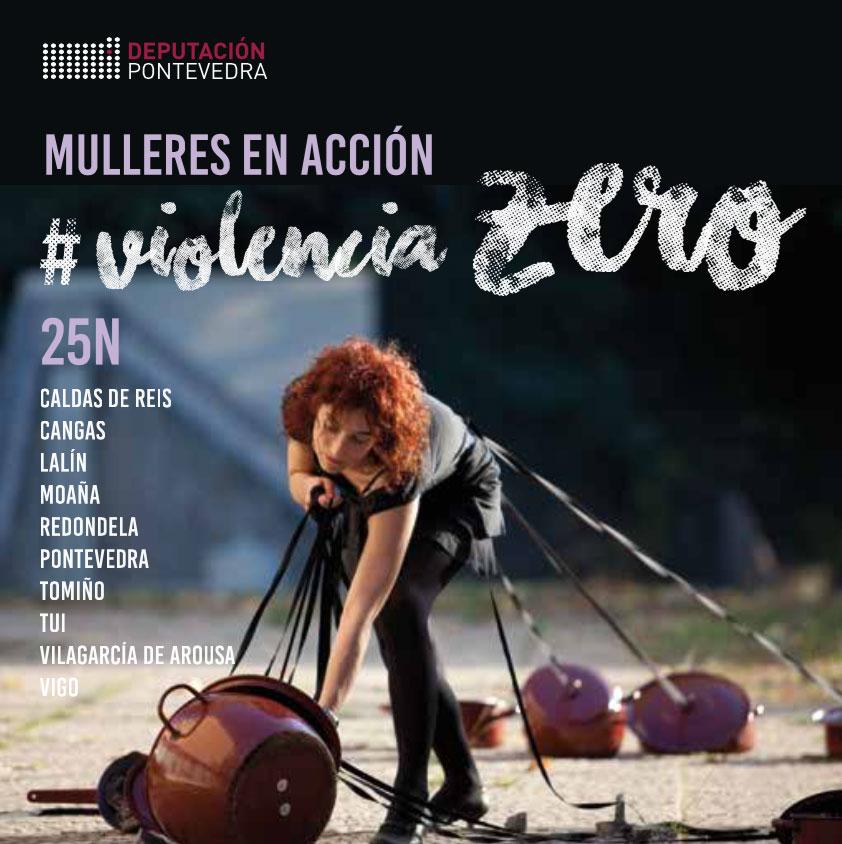 Proyecto 25 N - Violencia Zero - Mulleres en Acción - Portada